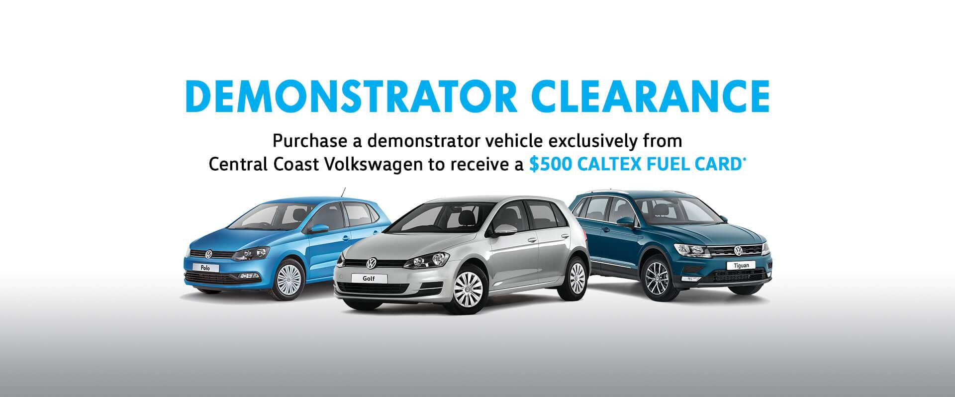 CCVolkswagen-Demo Clearance