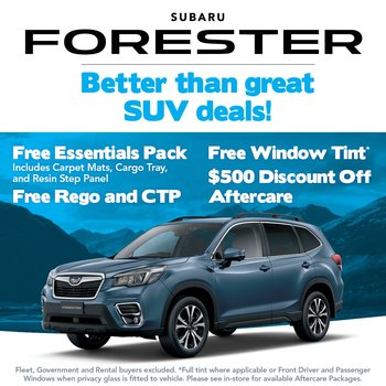 Better than great Forester deals! Small Image