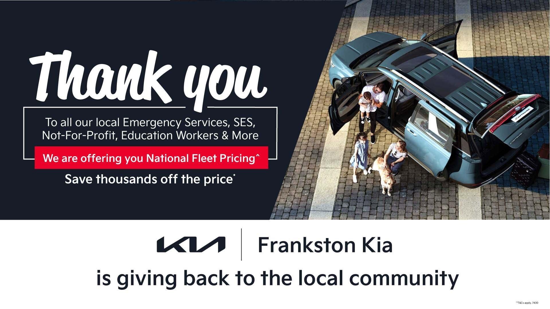 Frankston Kia - Thank You