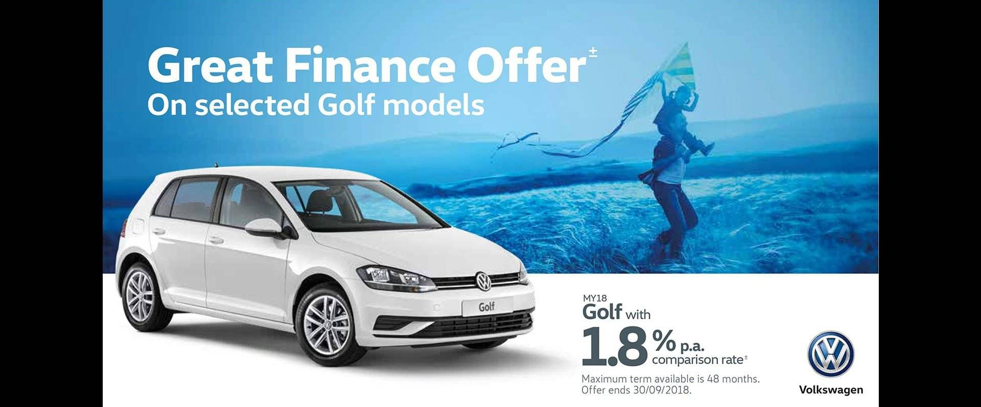 Ferntree Gully Volkswagen Golf Offer