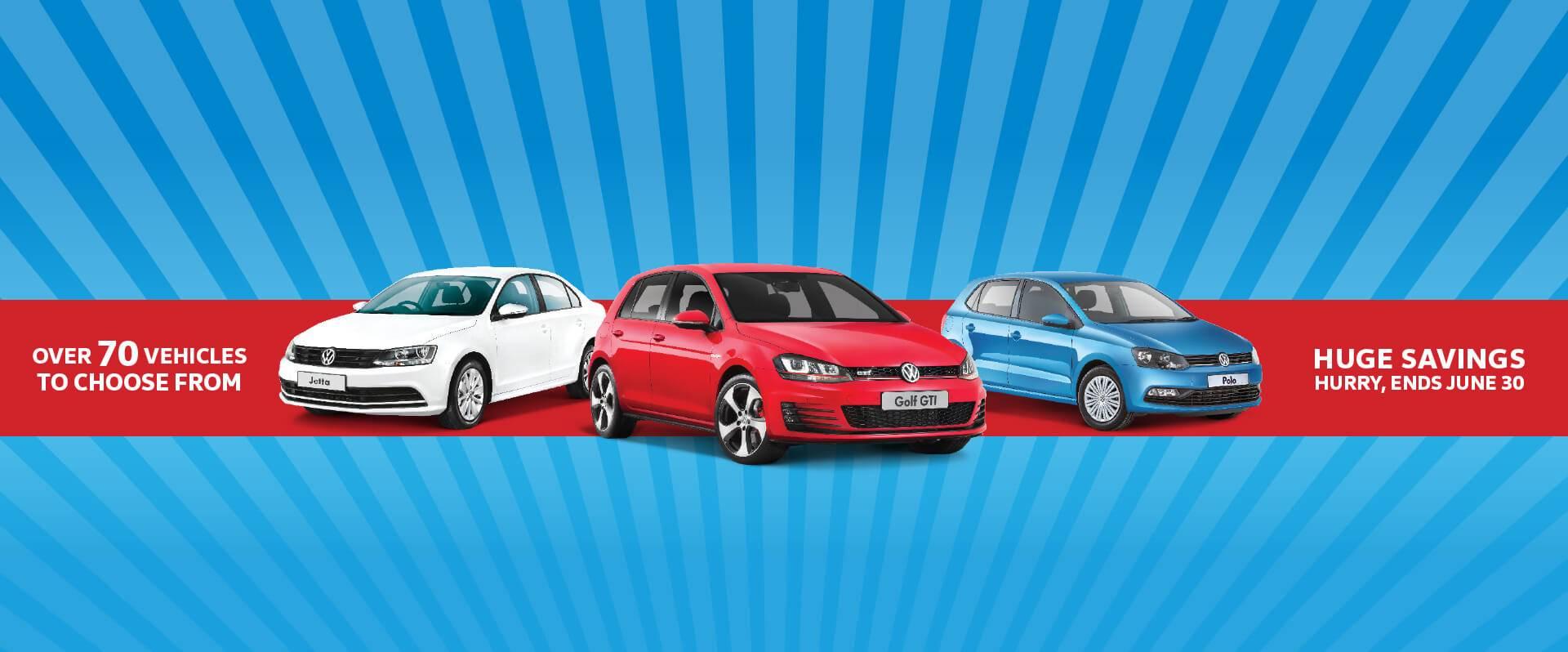 Solitaire Volkswagen EOFY Demonstrator Clearance