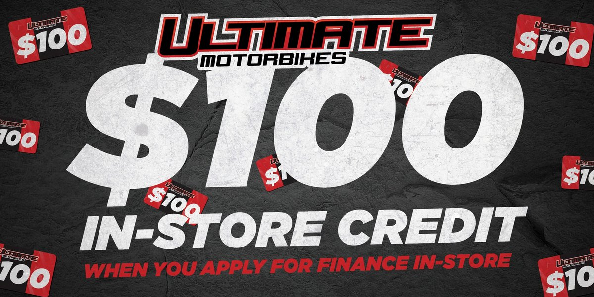 blog large image - Score $100 In Store Credit With Your Motorcycle Finance