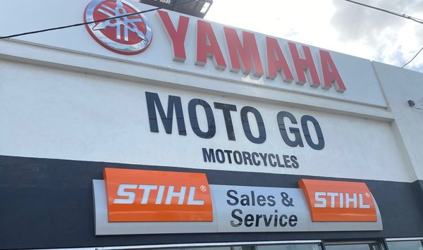 Yamaha Welcome banner 2