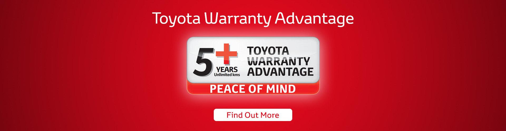 Toyota 5 Year Warranty - Sydney