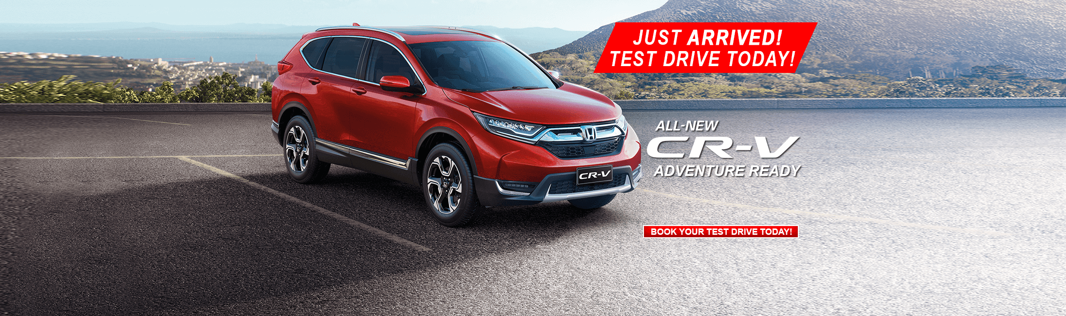 All New Honda CRV Is Here