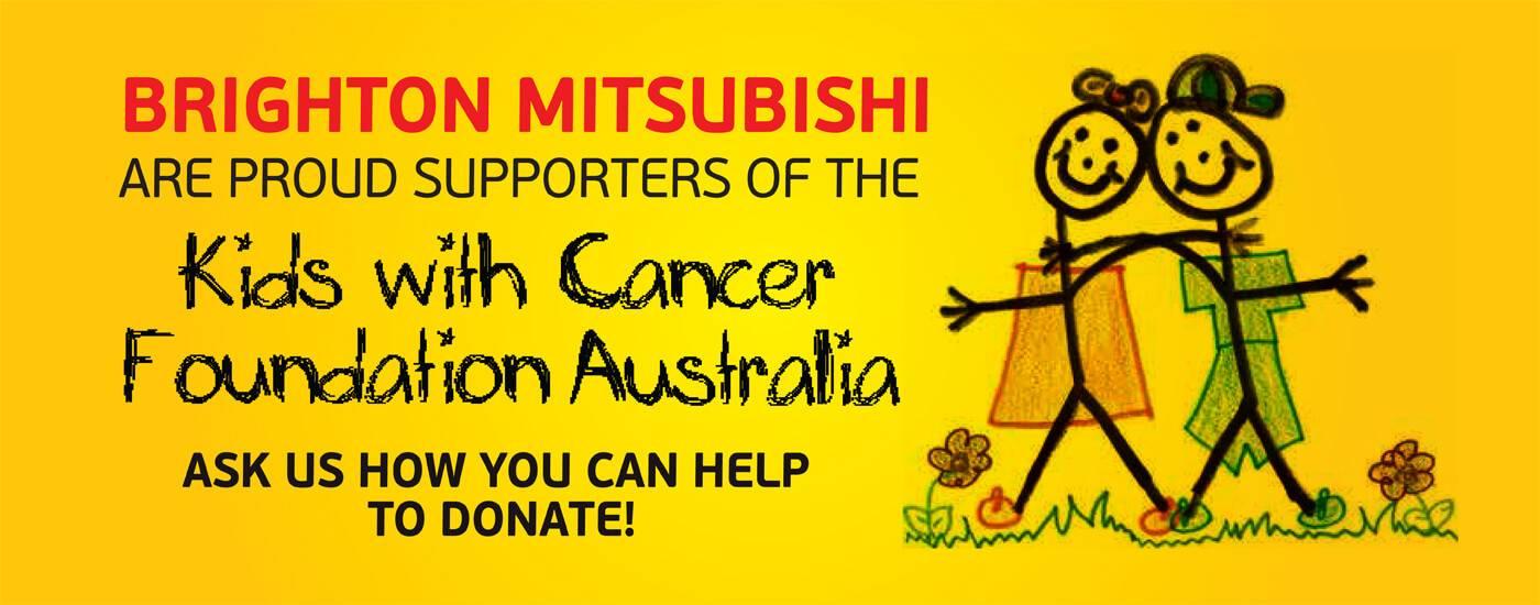 Brighton Mitsubishi Kids With Cancer