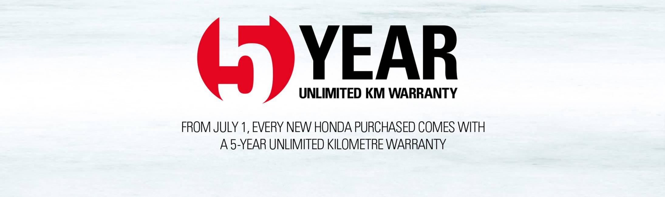 Honda North Warranty