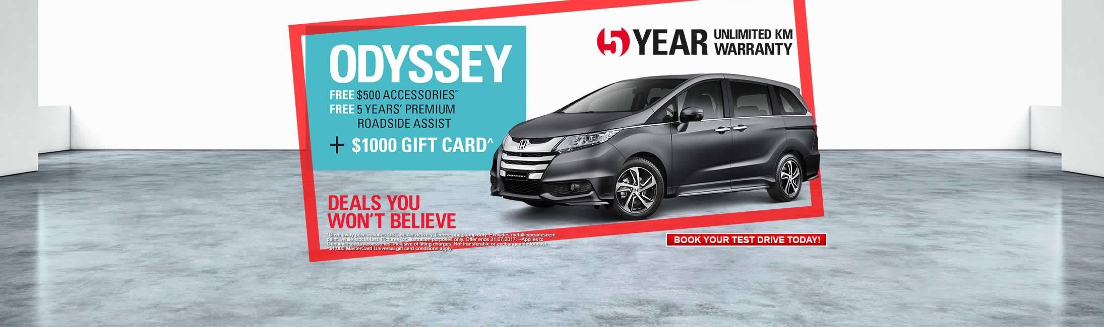 Honda North ODYSSEY