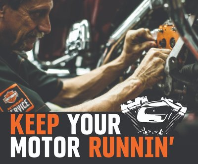 Keep your motor running image