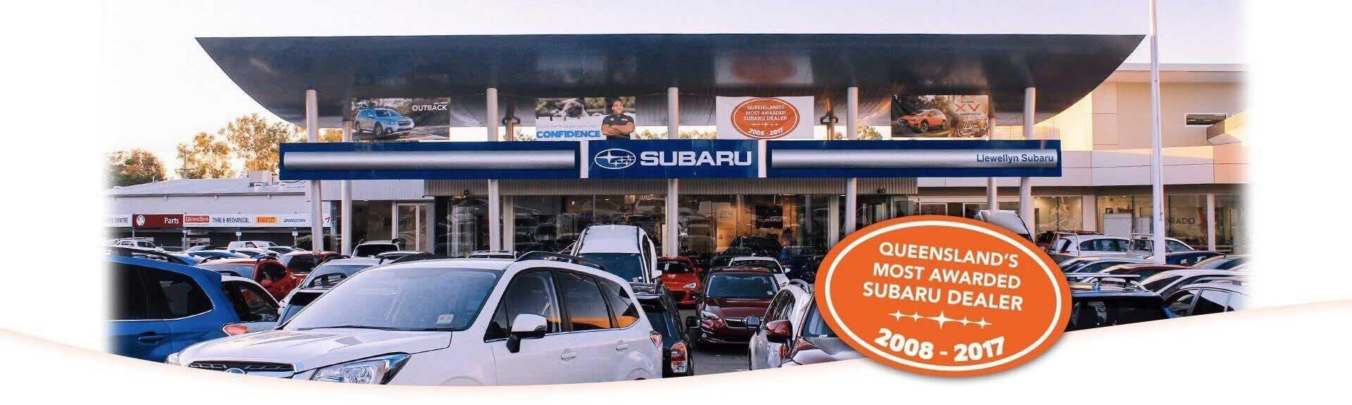 Llewellyn Subaru - Subaru Most Awarded Dealer