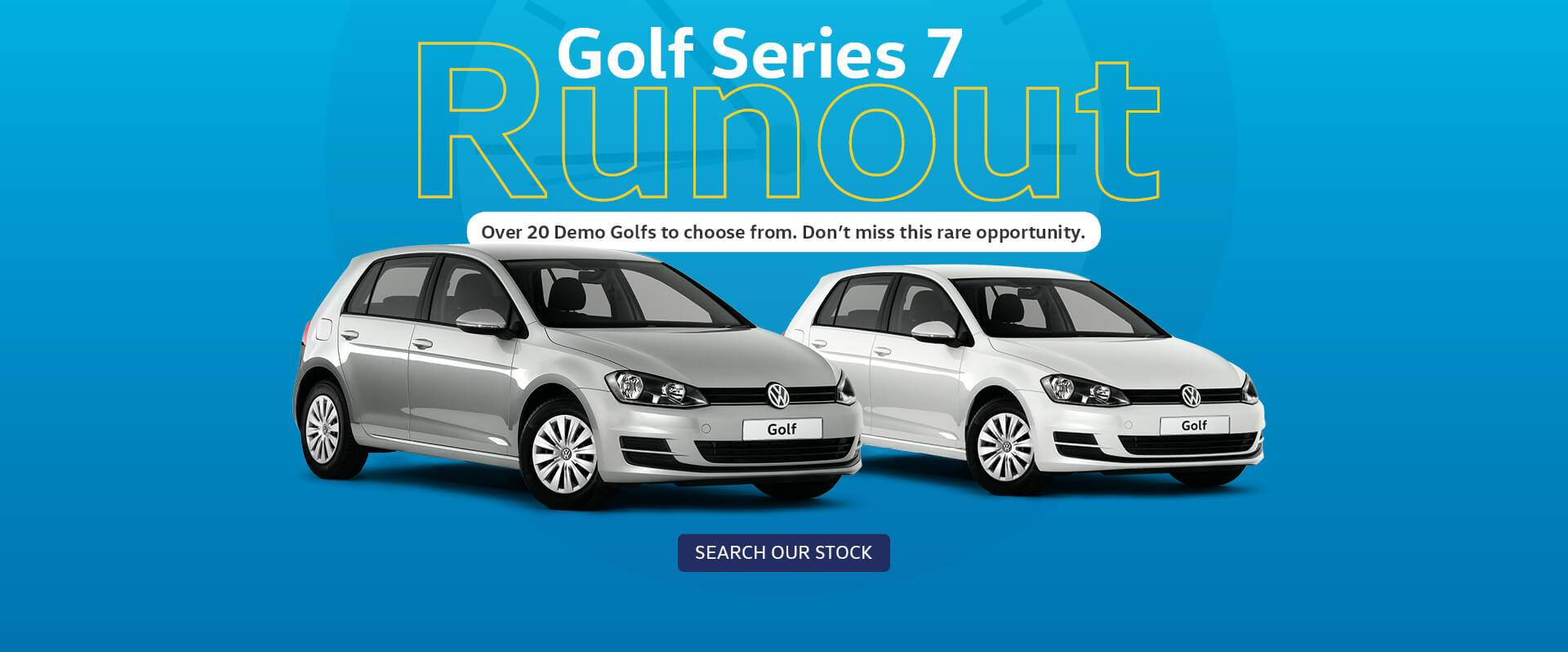 Werribee VW- Golf Demo Runout
