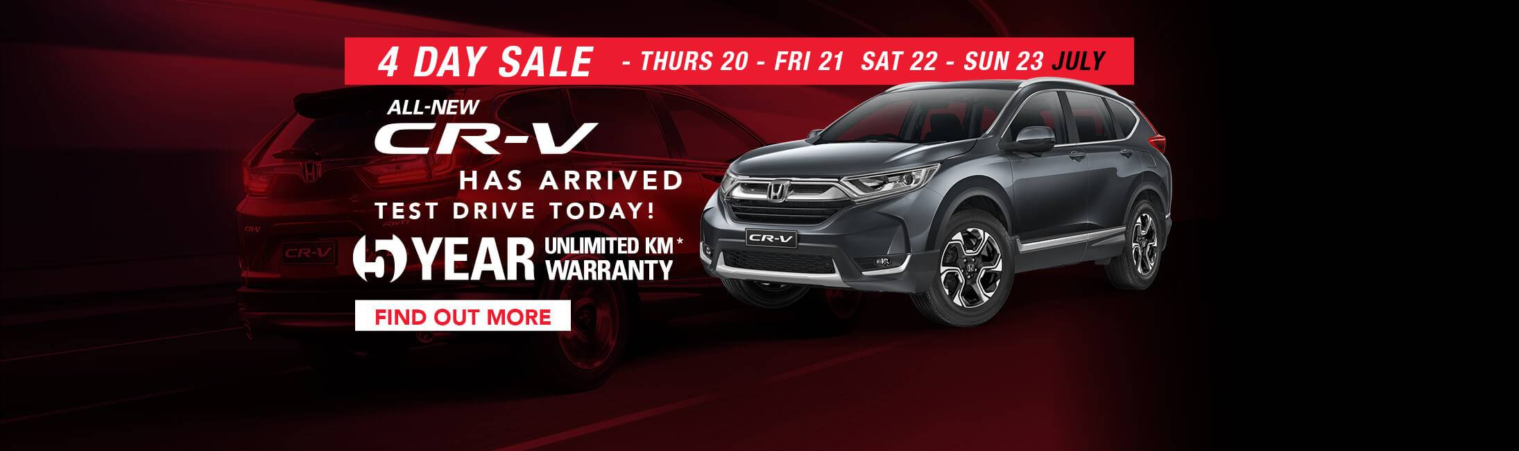 Western Highway Honda - 4 Day Sale
