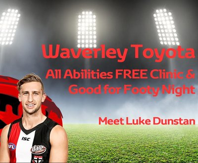 Waverley Toyota All Abilities Football Clinic and Exhibition Match image