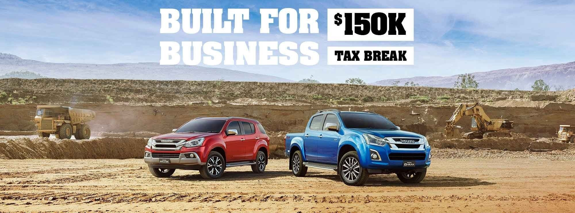 Osborne Park Isuzu Ute - Tax Write Off