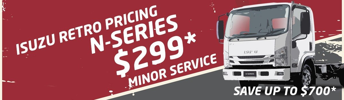 HUGE!! Up to $700 OFF N-Series Minor Service Large Image