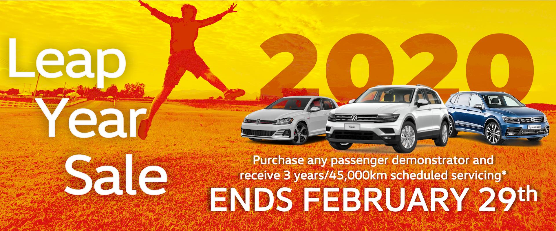 Leap year sale