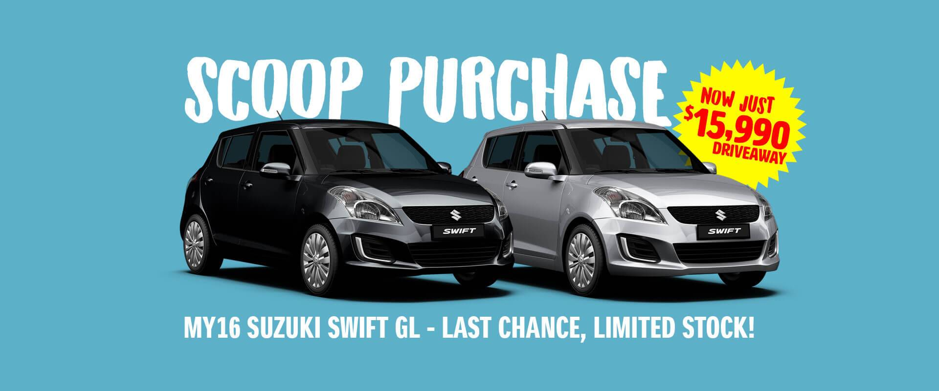 Alan Mance Suzuki - Limited Stock