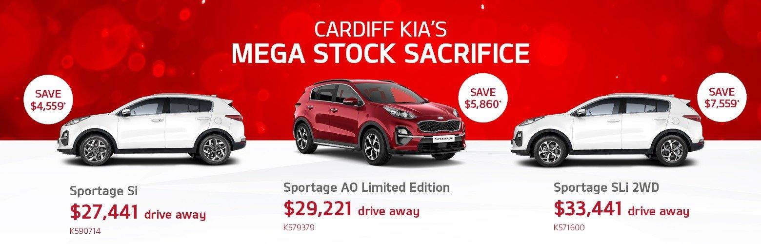 cardiff kia mega stock sacrifice