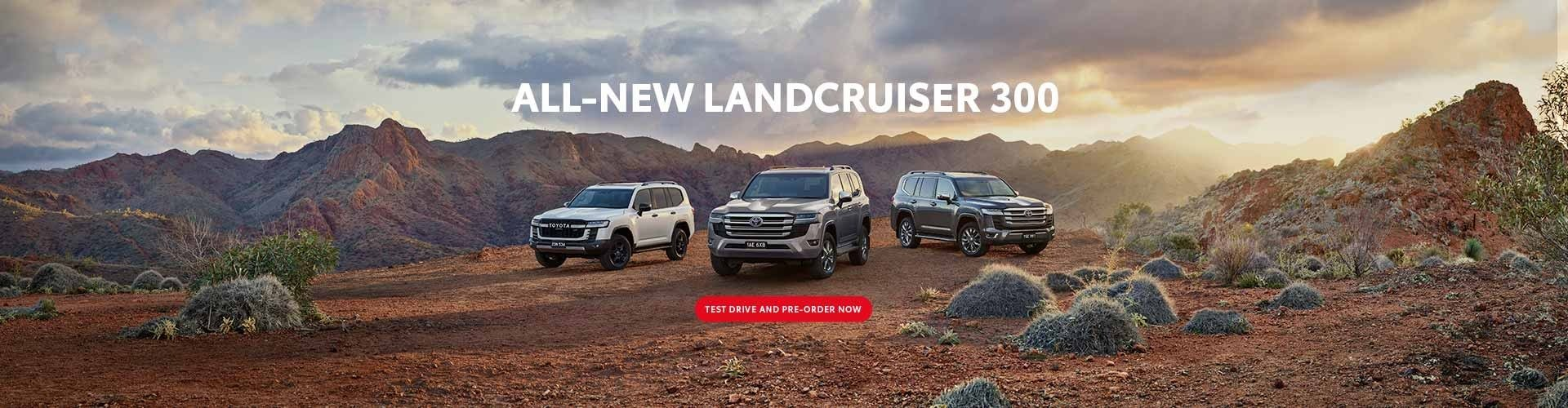 All-New Landcruiser 300 Series is here at John Madill Toyota