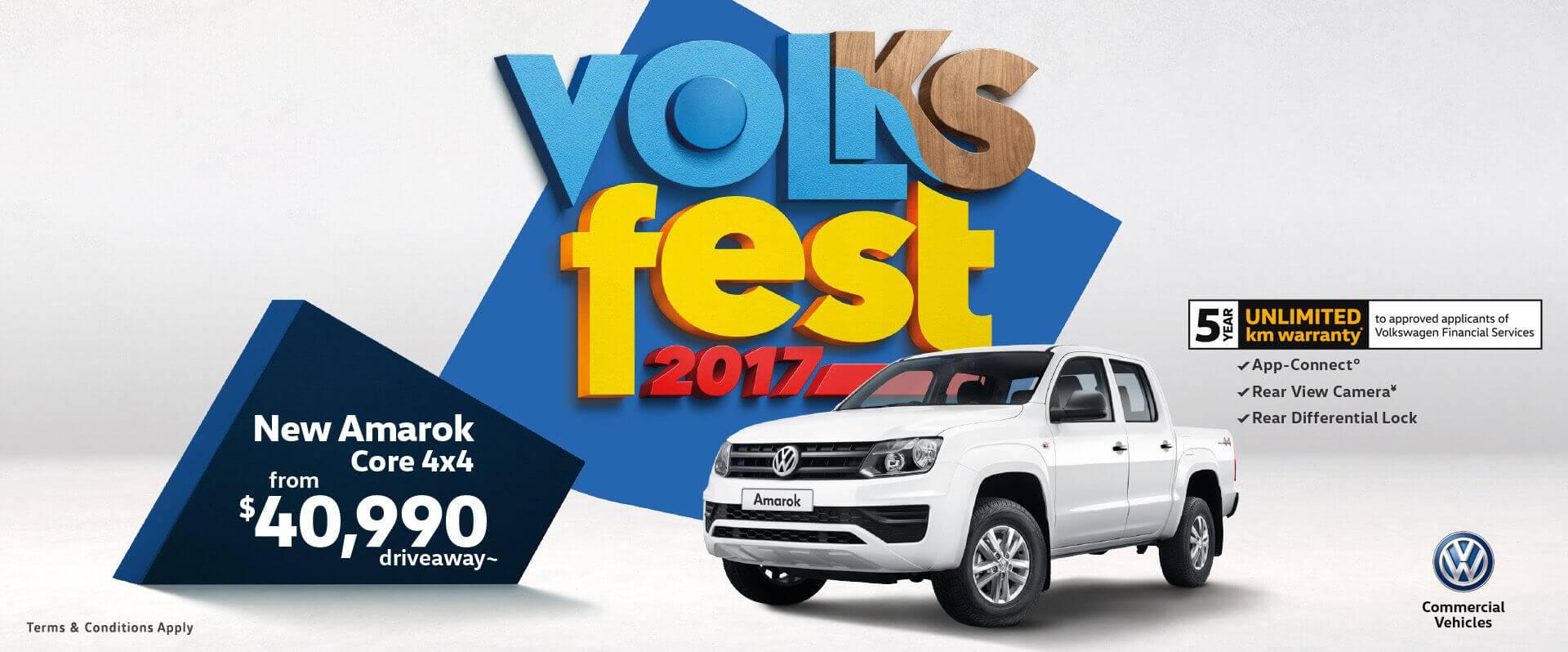 Volkswagen Commercial offer