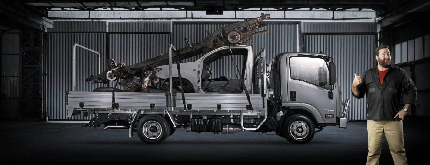 Isuzu Trucks - Ready to Work Range