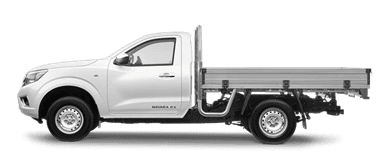 NAVARA RX SINGLE CAB CHASSIS 2WD MAN