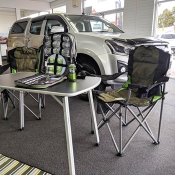 Get $450 worth of Camping Gear with any Isuzu Ute purchase! Small Image