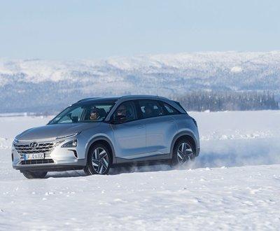 Hyundai in Winter image