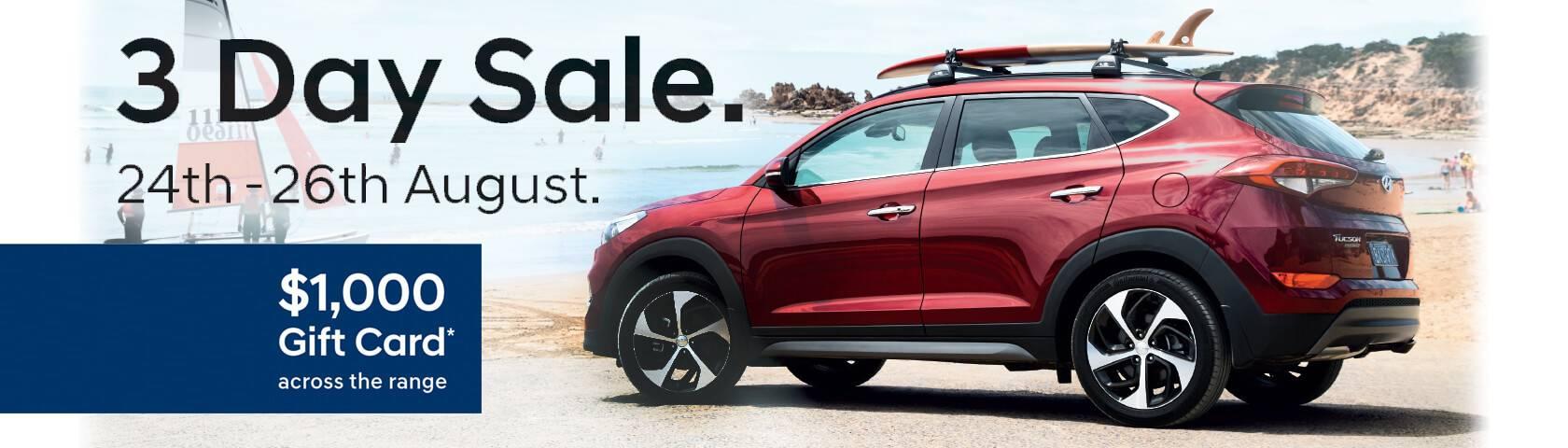 Llewellyn Hyundai - 3 Day Sale