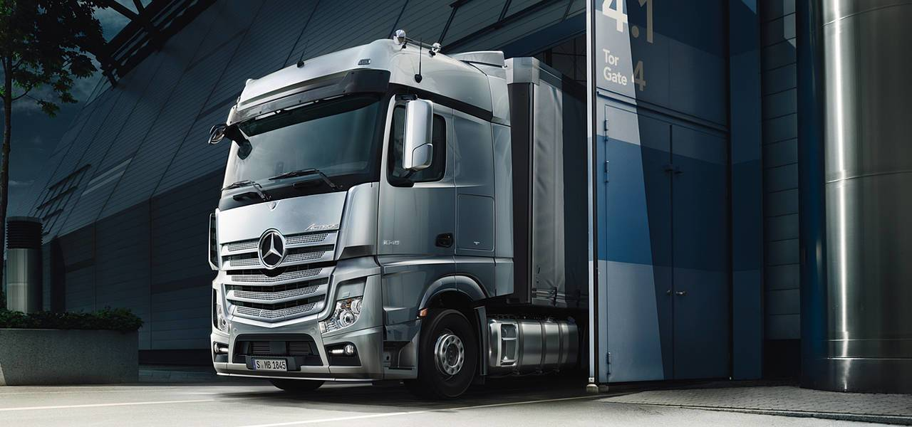 Actros - Newcastle Mercedes-Benz Trucks