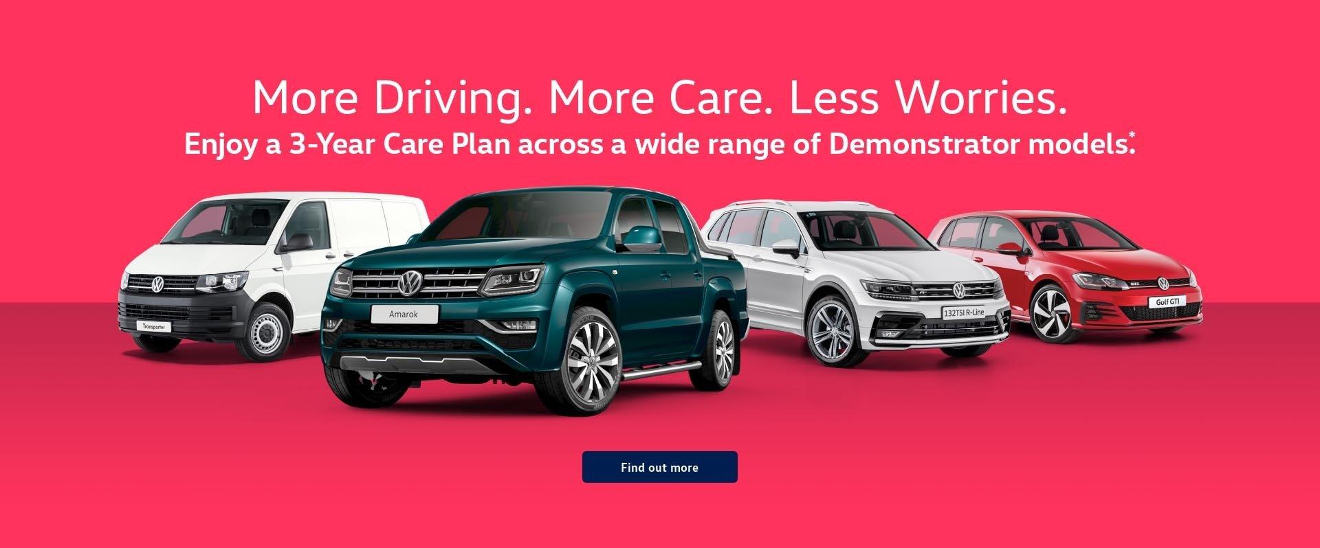 Denlo Volkswagen - 3 Year Care Plans