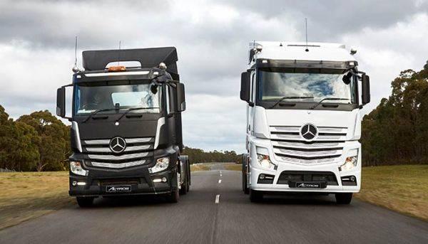 Mercedes Benz Trucks Welcome Image