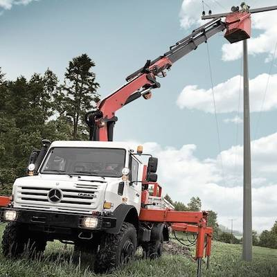 Excellent ergonomics and efficiency make the Unimog the convincing choice on every count.