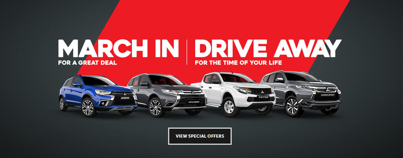 Mitsubishi March Offers