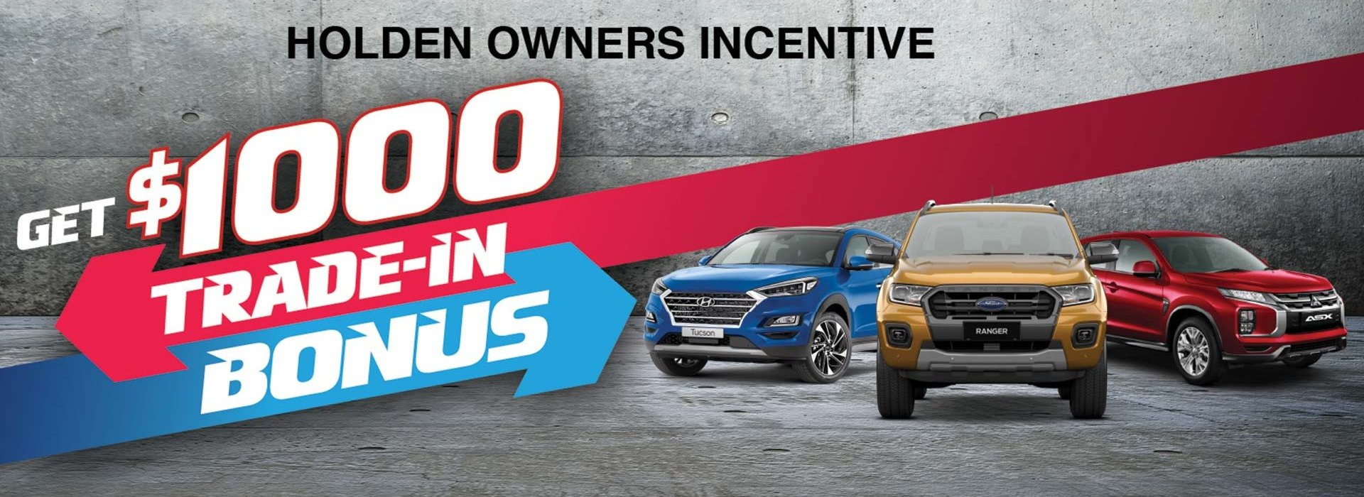 Steinborner Mitsubishi | Holden Owners Incentive Special Offer