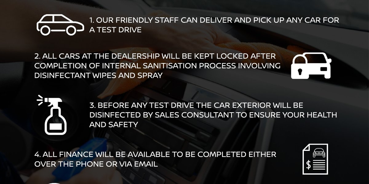 blog large image - What we are doing to ensure your health and wellbeing during a test drive or use of a loan car