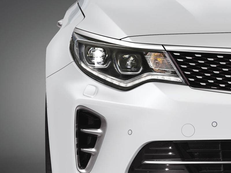 Optima LED headlights