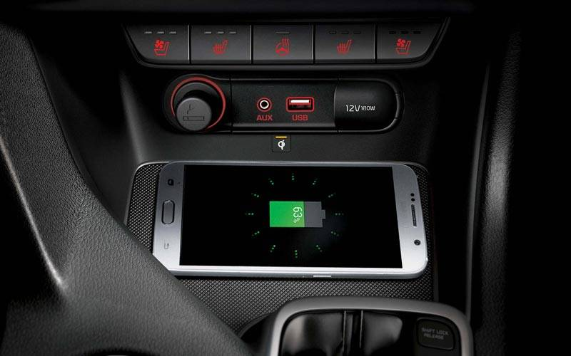 Sportage Wireless Charging