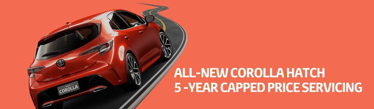 All-New Corolla Hatch, 5 Year Cap Price Servicing Large Image