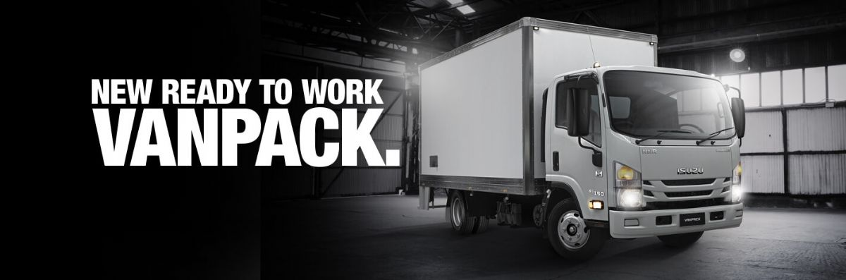 New Isuzu Ready-To-Work Vanpack