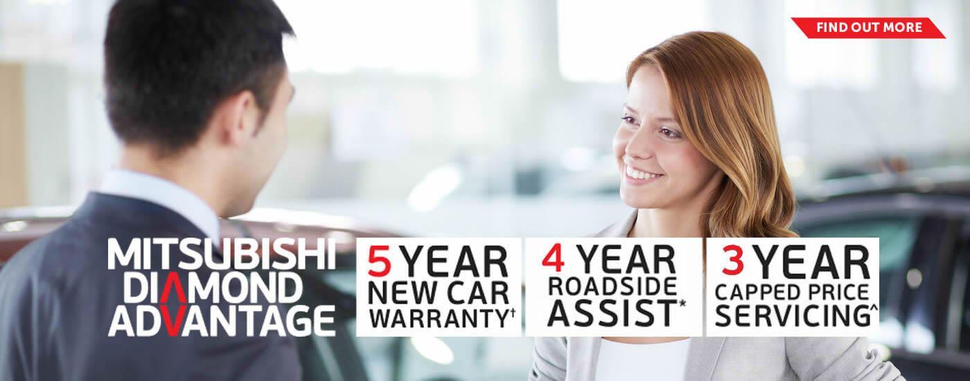 Mitsubishi Diamond Adv Banner