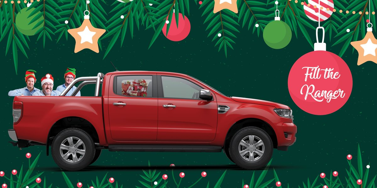 blog large image - Help us fill the Ranger to help those in need this Christmas