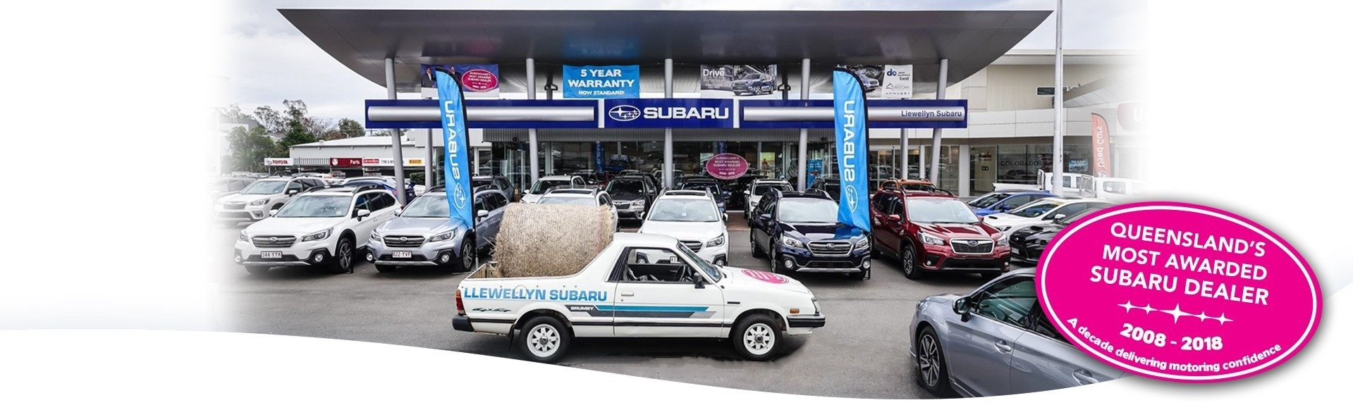 QLD's Most Awarded Subaru Dealer