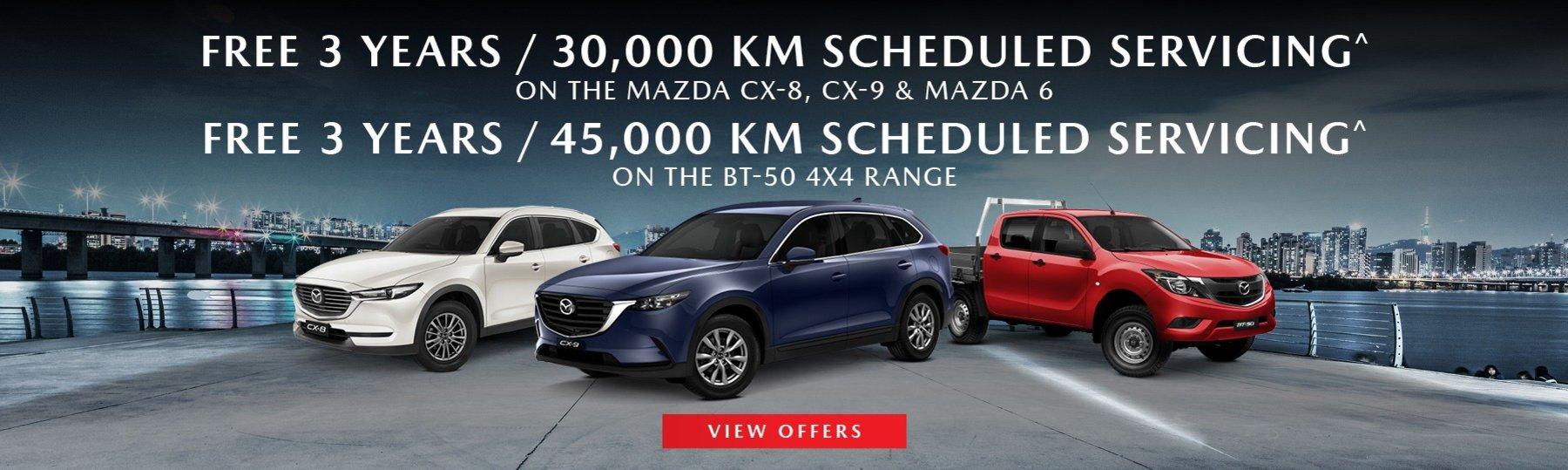 Macarthur Mazda Servicing Special Offer