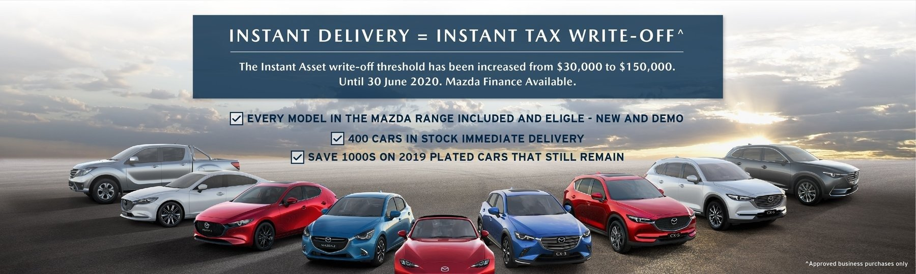 Port Macquarie Mazda Instant Asset Write Off