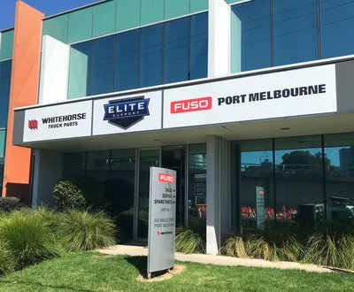 Fuso Port Melbourne receive their Elite Support Certification image