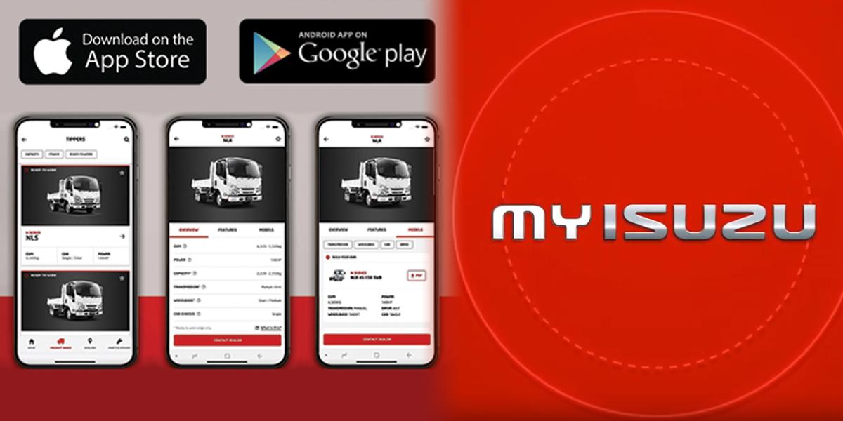 blog large image - A new app for Isuzu Trucks