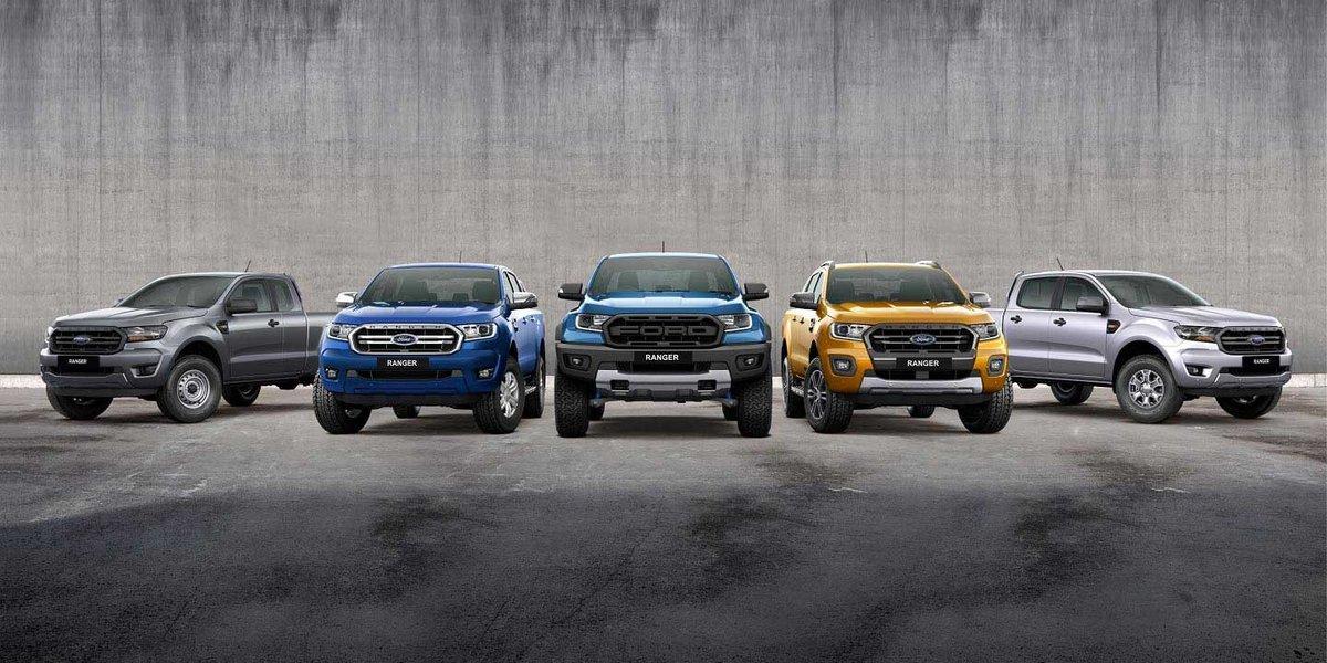 blog large image - The Ford Ranger Range