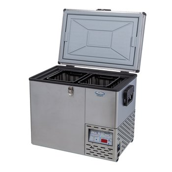 National Luna Stainless Steel Fridge Freezers are Now in Stock Small Image