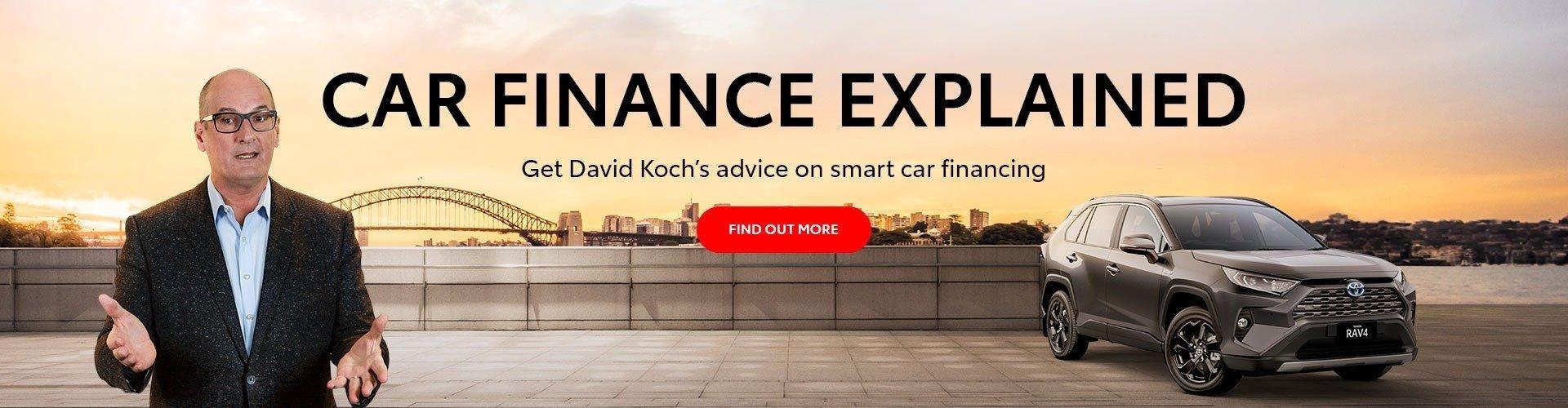 Toyota Car Finance - Metro Dealer
